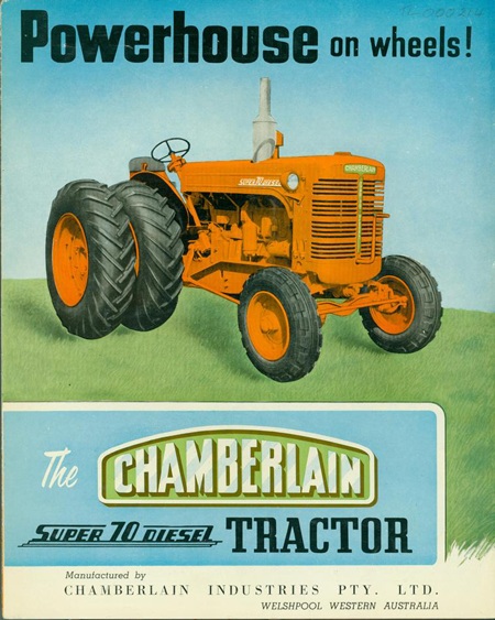 Chamberlain-Tractor-Prices-Truck-Parts