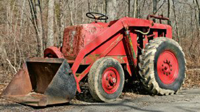 Wrecking Hough Tractor - Truck & Tractor Parts & Wrecking