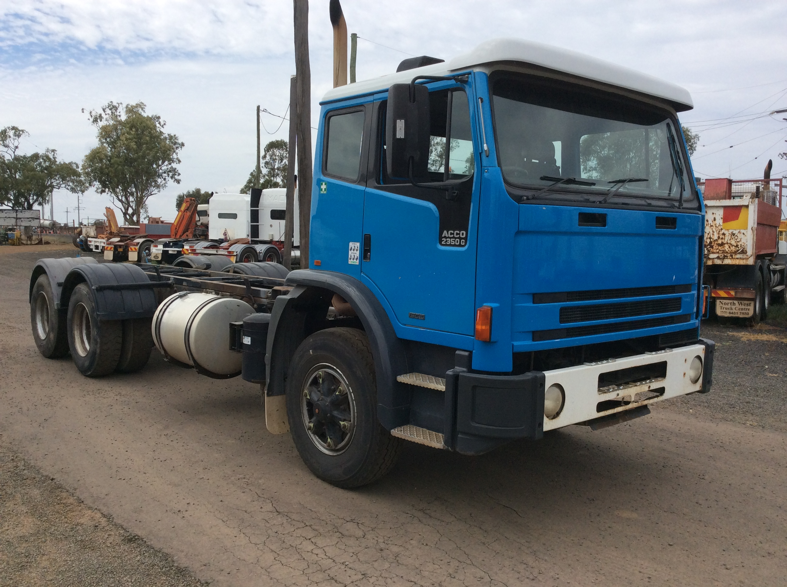 International Iveco Acco 2350g Truck Tractor Parts