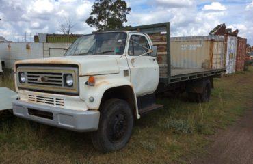 Chev C50 Truck White