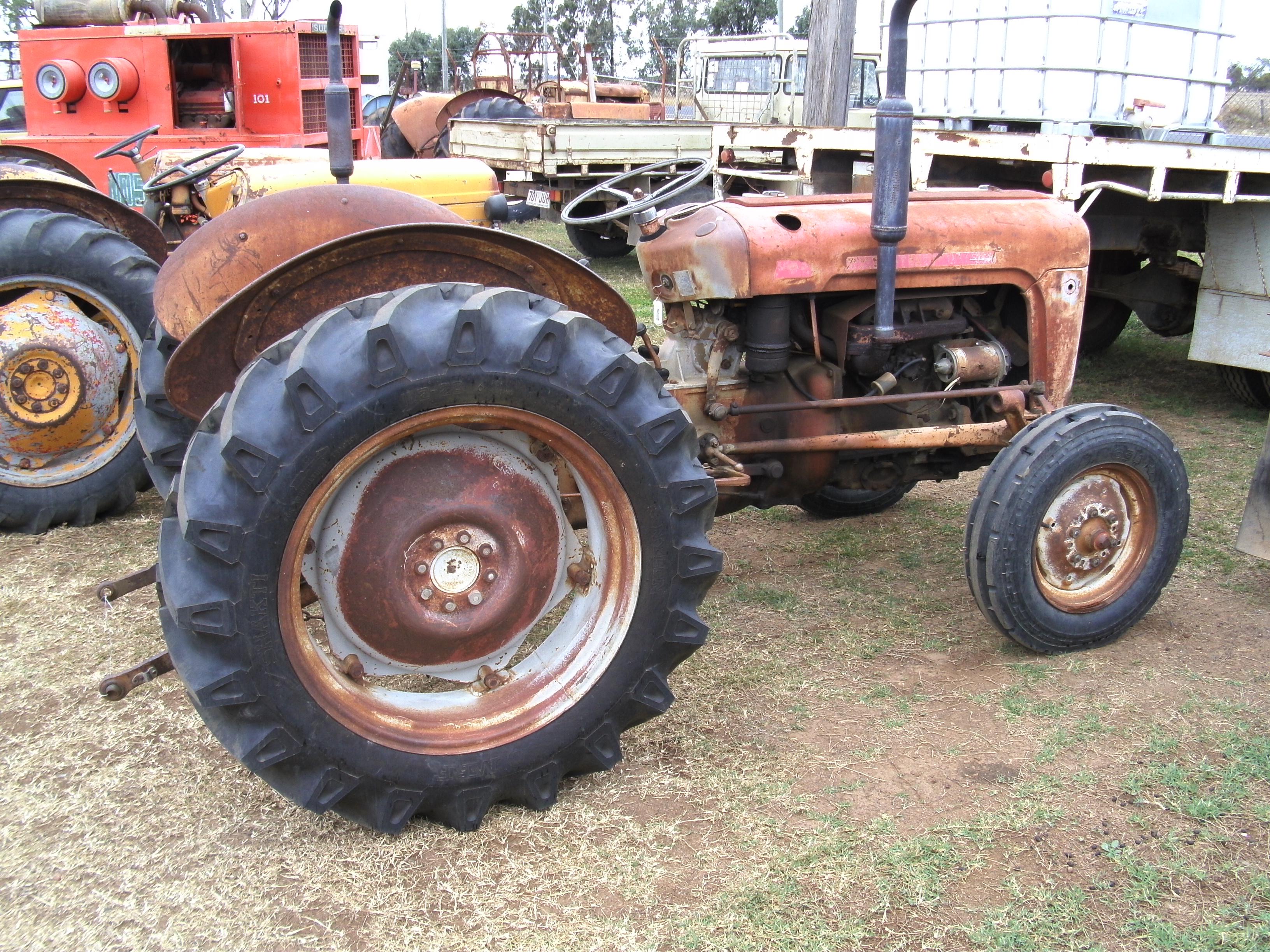 Ferguson 35 Parts : Massey ferguson truck tractor parts wrecking