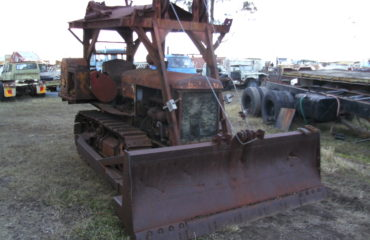 Oliver Clectrac Tractor