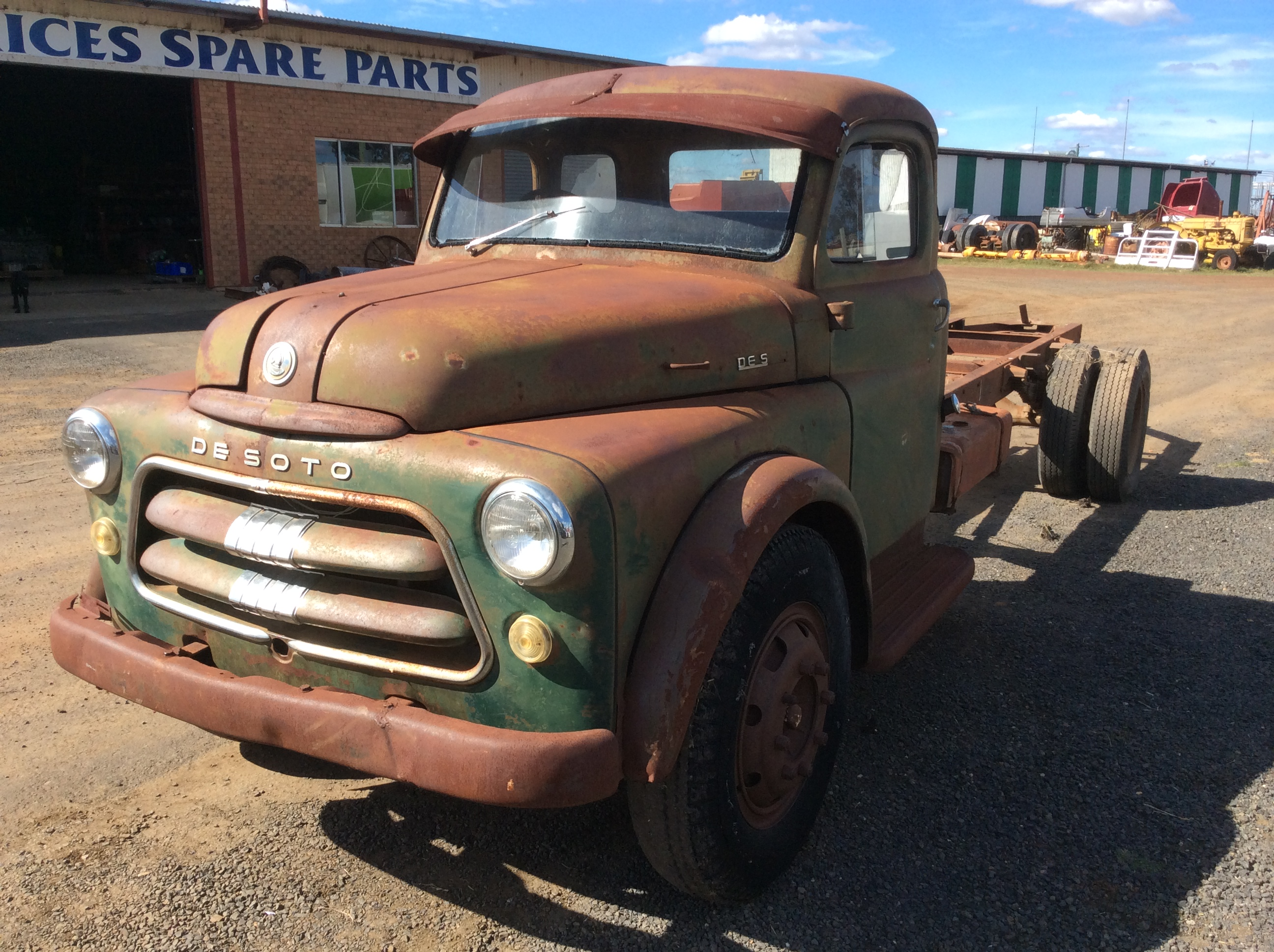 Dodge Desoto Truck - Truck & Tractor Parts & Wrecking