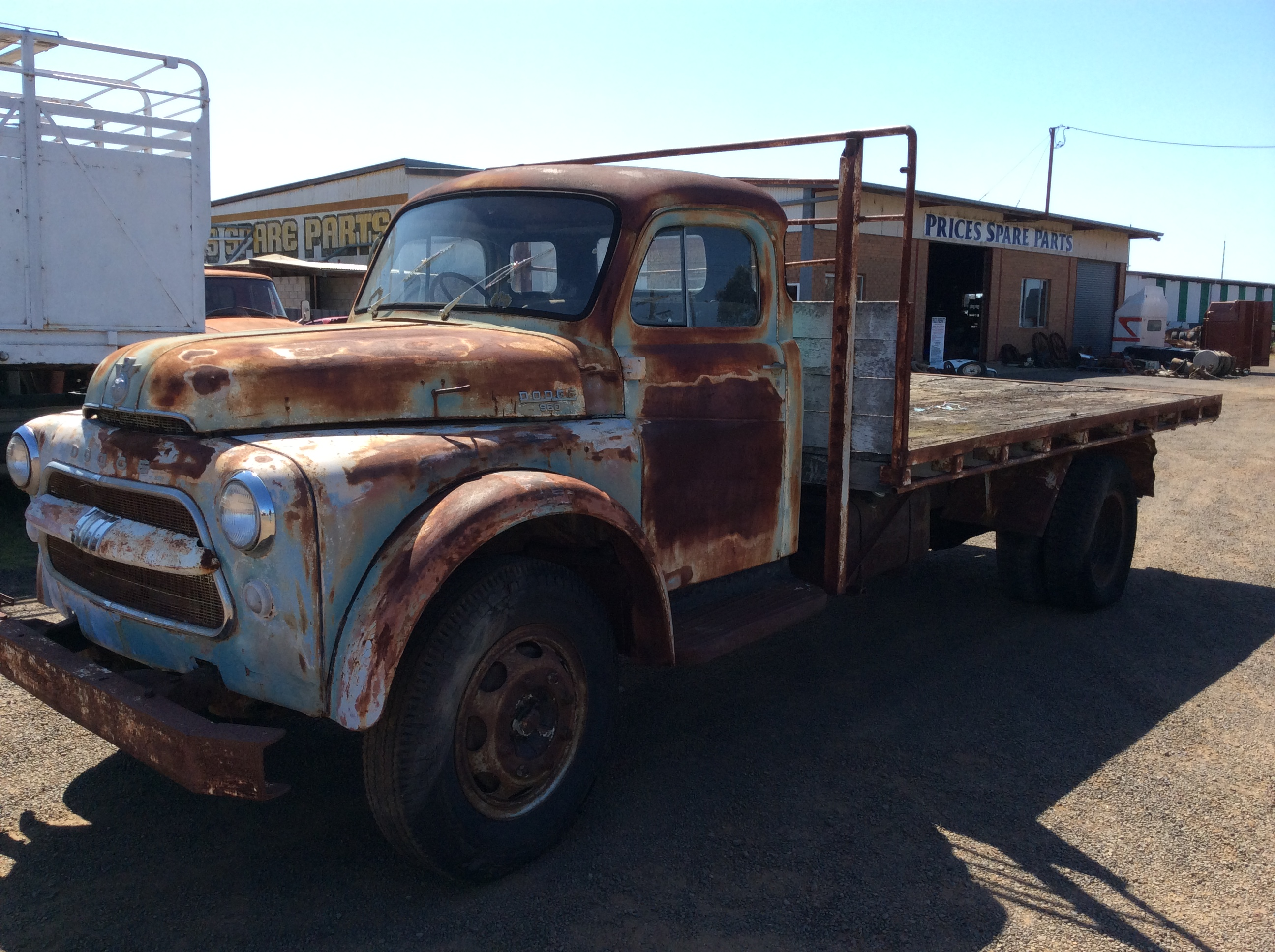 Dodge Power Giant V8 4 Truck Tractor Parts Wrecking 1961 Pickup
