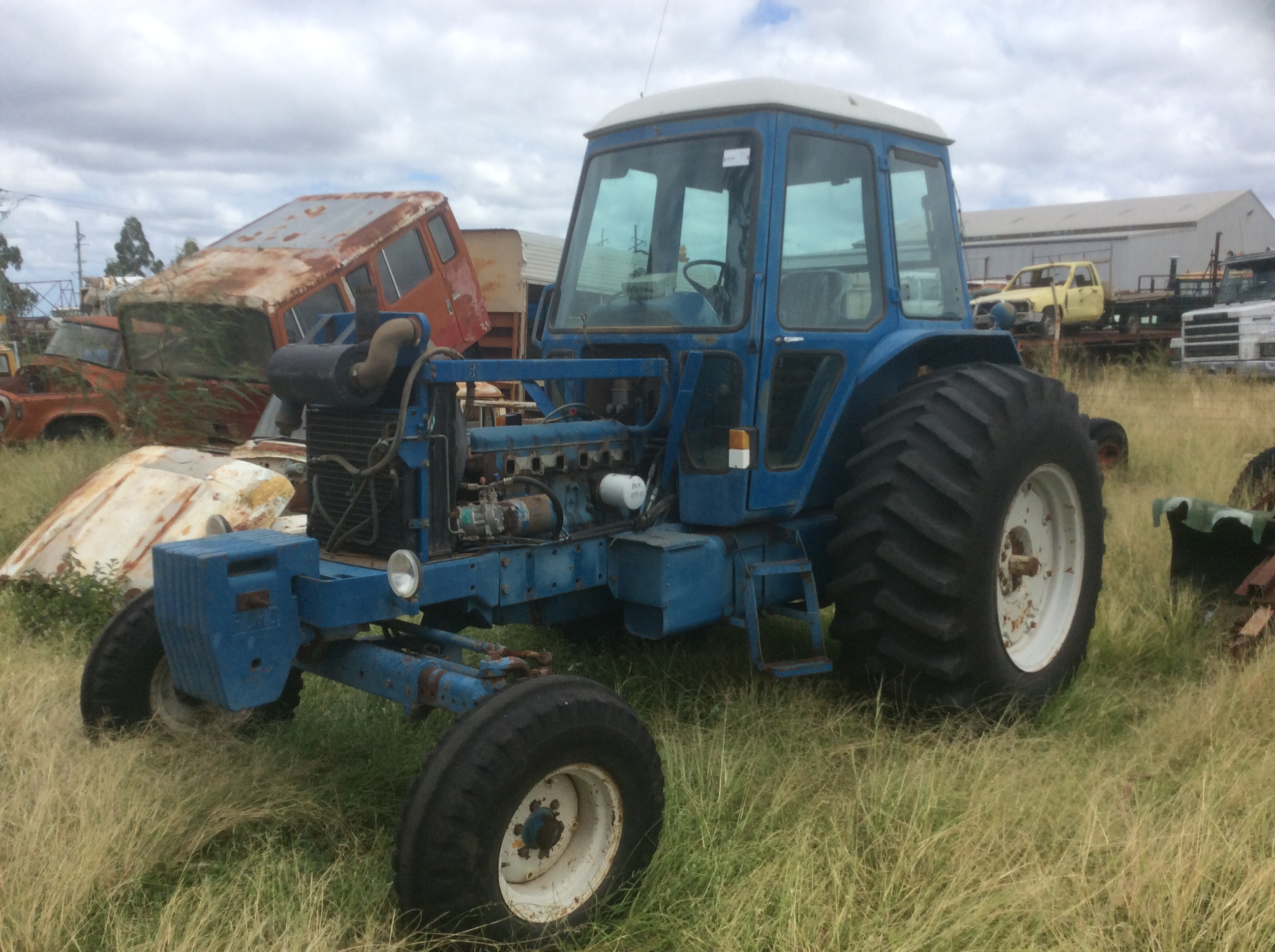 Ford 8700 Tractor : Ford tractor specs autos post