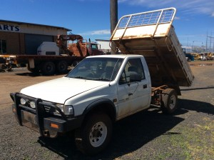 Rodeo Ute with Tipping Back