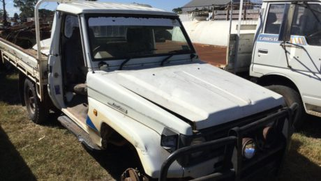 Landcruiser Ute 75 series 1993 model
