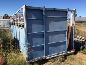 Stock Crate 20ft Blue