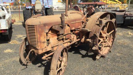 Case DEX Tractor