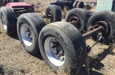 Super single trailer axles