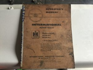 International AA Operator Manual