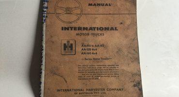 International AA Operator Manual