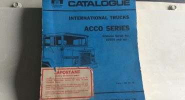 International Acco Series Parts Catalogue