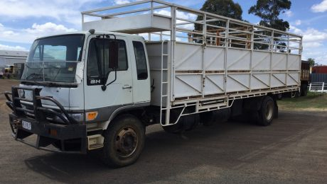 Hino GH with Stockcrate