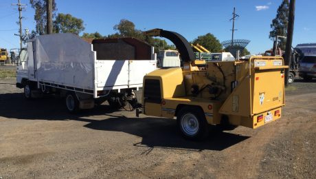 Ford Trader Woodchipper