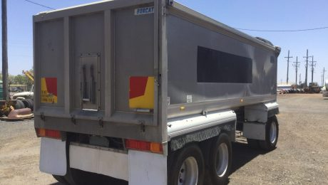 Borcat Super Dog Tipper Trailer